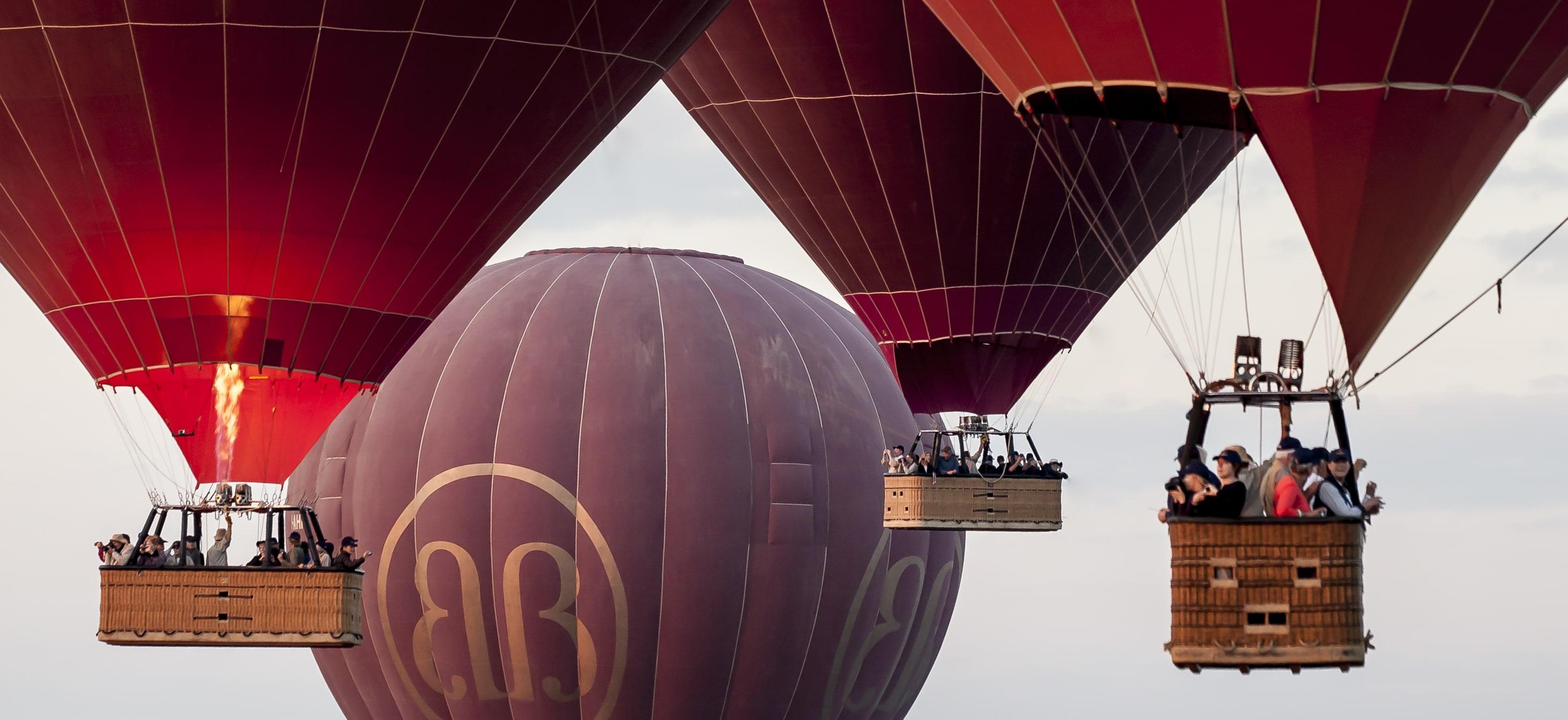 Ballooning in Mandalay