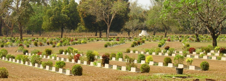 Myanmar Soldier Cementery
