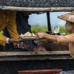 Myanmar Exotic Lunch on Lake