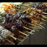 Yangon street food BBQ