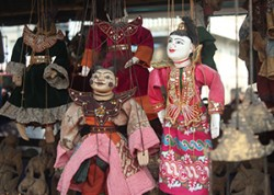 puppet in Manadalay image