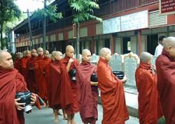 Monks in Mogok