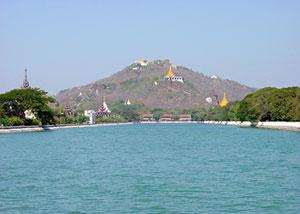 Mandalay Pagoda view