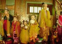 Buddha image in Poppa