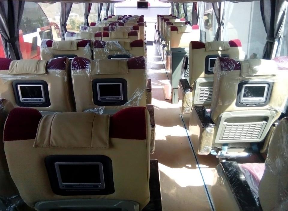 Myanmar Bus Transportation